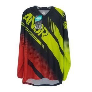 ANSR Long Sleeve Racing MX Jersey Size Large